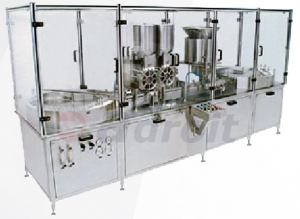 Injectable dry powder filling