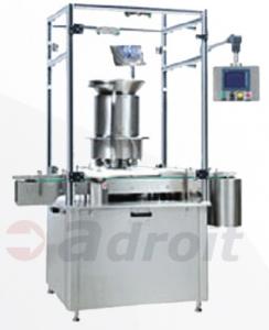 Multihead vial cap sealing machine